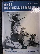 De Alk Book Onze Koninklijke Marine 1 W.C. Lemaire (Nederlands) #114
