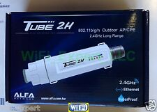 ALFA Networks PoE TUBE 2H Outdoor Super Long Range Booster GET FREE INTERNET