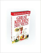 As Seen On TV  Grandma Knows Best Great Kitchen Secrets Book  Chef Tony Notaro