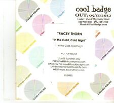 (DP389) Tracey Thorn, In The Cold, Cold Night - 2012 DJ CD