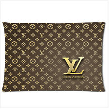 Hot New louis vuitton gold pillow case (18'' x 26'') two side