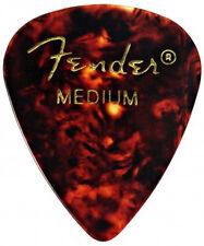 Fender 351 classic celluloïd medium picks (shell)