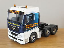CORGI HAULIERS OF RENOWN COLLETT TRANSPORT MAN TGX TRUCK CAB MODEL CC15211 1:50