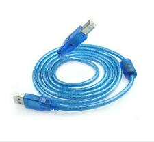 Pro 1.5M USB A to B Male M/M Cable Wire For HP Canon Dell Printer Scanner