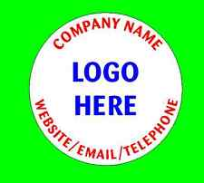 Personalised Business Name Stickers Thank You Seals Your Logo Labels Address 45