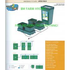 Easy 2 Grow 4 Olla Sistema Auto Riego AutoPot Kit Completo Hydroponics Carpa planta