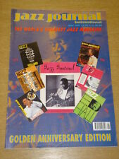 JAZZ JOURNAL INTERNATIONAL VOL 50 #5 1997 MAY GOLDEN ANNIVERSARY EDITION