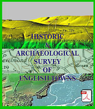 Historic Survey Of Towns & Monuments (2 Discs) Metal Detecting Research PDF Sets
