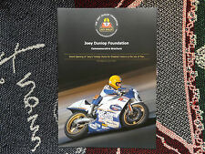Joey Dunlop Foundation COMMEMORATIVO BROCHURE-Joeys INAUGURAZIONE CASA VACANZE