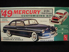 VTG 1963 '49 Mercury Club Coupe Model/Kit AMT USA 02-349 Rare Time Capsule Kept!