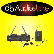 Proel WM202H Microfono Archetto Wireless con Ricevitore Trasmettitore Canto Voce