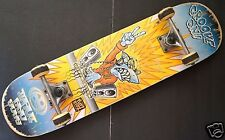 "MAUI AND SONS Groove On Tuff Kidz Blue Shark Complete SkateBoard 8"" x 31.25"""