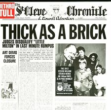 JETHRO TULL THICK AS A BRICK (STEVEN WILSON MIX) VINILE LP 180 GRAMMI+MP3
