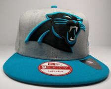 Carolina Panthers 9Fifty Grand Logo Redux Field Gray Adjustable Snapback Hat NFL