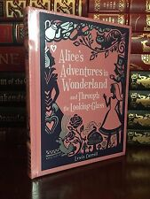 Alice Adventures in Wonderland New Sealed Leather Bound Collectible 1st Edition