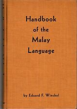 Handbook of the Malay Language - Eduard F Winckel