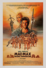 1980's Sci-Fi  * Mad Max: Beyond Thunderdome  *  Mel Gibson Movie Poster 1985
