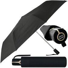 pierre cardin Unisex-Regenschirm - schwarz - Taschenschirm auf-zu-automatic neu