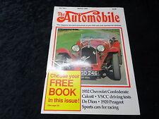 The Automobile Magazine - March 1989 - 1932 Chevrolet Confederate Calcott