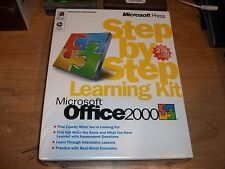 Microsoft Press Office 2000 Learning Kit CD ROM & Book Self Paced Training NEW
