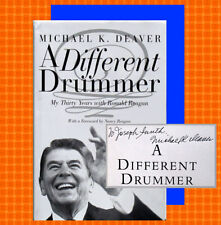 DIFFERENT DRUMMER (A) by Michael K. Deaver SIGNED 2001 HBDJ 1ST/1ST Like New!