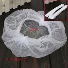 Disposable Hair Net Cap NON WOVEN Bouffant Stretch Dust CAP 100-Pack