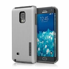 Incipio DualPro SHINE Hard Case Cover for Samsung Galaxy Note Edge -Silver/Black