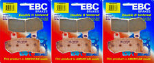 EBC HH Front & Rear Brake Pads Set - HD V-Rod, FLHT & FLHR - 2008-2015 _FA409HH