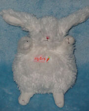 Itty Bit White Plush Bean Bag Bunny Rabbit Bunnies By The Bay Stuffed Baby Toy 6