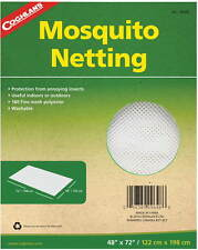 "MOSQUITO NETTING 48"" X 72 "" 180 FINE MESH POLYESTER WASHABLE- CAN USE FOR REPAIR"