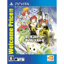 Digimon Story Cyber Sleuth (Welcome Price!!) PS Vita SONY JAPANESE NEW JAPANZON