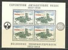 ANTARCTIC EXPEDITION SLED DOGS ON BELGIUM 1957 Scott B605a MNH