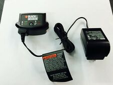 Black & Decker 20v Cordless Lithium-ion Battery Charger * 90590282 *