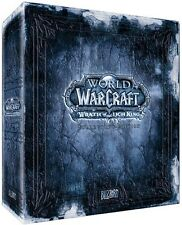 Wow WOTLK Wrath of the mente King Collectors Edition-used