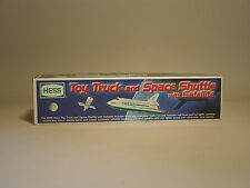 HESS 1999 HESS TOY TRUCK & SPACE SHUTTLE WITH SATELLITE MINT IN THE BOX & BAG