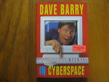 DAVE  BARRY  Best Seller  Signed  Book (DAVE BARRY IN CYBERSPACE-1996 1st Edit.)