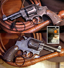 1 Smith & Wesson 45 Pistol Revolver Prop Gun 4 Your Indiana Jones Costume Outfit