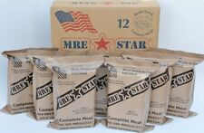 12 Fresh Military MRE Meals USMC Army Camping Survival Bug Out Food