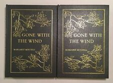 Gone with the Wind 2 Vol. - Margaret Mitchell (Easton Press 1968 Leather Illust)