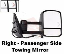 03 04 05 06 HD 1500 2500 SILVERADO POWER HEATED TOW TOWING MIRROR RIGHT RH NEW