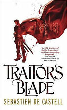 Traitor's Blade (The Greatcoats), New, de Castell, Sebastien Book