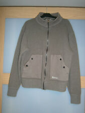 Bench mens 80%wool brown jacket size L
