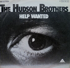 """7"""" 1976 RARE IN MINT- ! HUDSON BROTHERS : Help Wanted"""