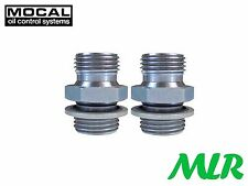 MOCAL MMS3-8-10 1/2-5/8 BSP OIL COOLER REMOTE FILTER SANDWICH PLATE FITTINGS QO