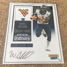 Wendell Smallwood 2016 Panini Rewards Contenders Draft On Card Auto Serial # /5