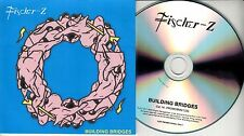 FISCHER Z Building Bridges 2017 UK 11-trk promo test CD