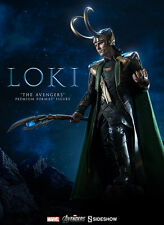 Sideshow Marvel 2012 Avengers Movie Loki Premium Format Figure Statue In Stock