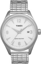 NEW Mens Timex T2N529 Watch Stainless Steel Expansion Band $110 Originals