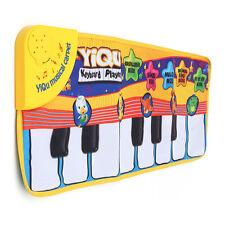 Unisexe Enfant Tapis De Jeux Tactile Play Chantant Clavier Piano Animal Musique