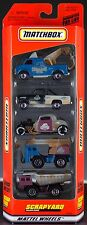 Matchbox Scrapyard 5 Pack Gift Set 1999 NEW in Box Exclusive Designs